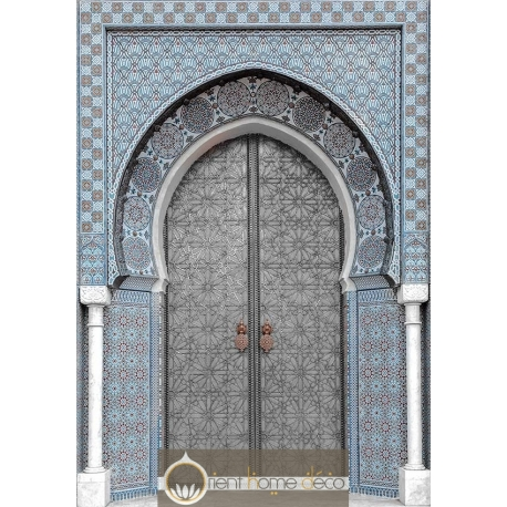Tableau decoration marocaine porte marocaine for Decoration porte orientale