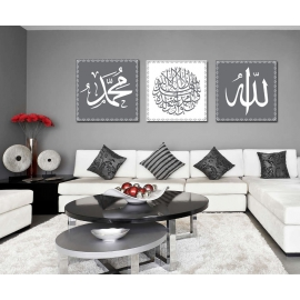 Tableaux Triptyque Islam 3-1