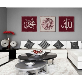 Tableaux Triptyque Islam 4
