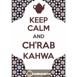 Keep Calm Chrab kahwa