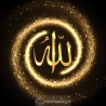 Calligraphie Allah swt 1.2