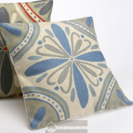 Coussin oriental Lys