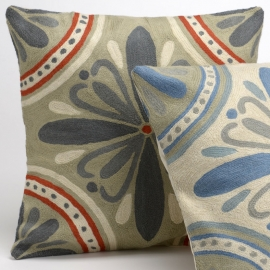 Coussin oriental Lys 2